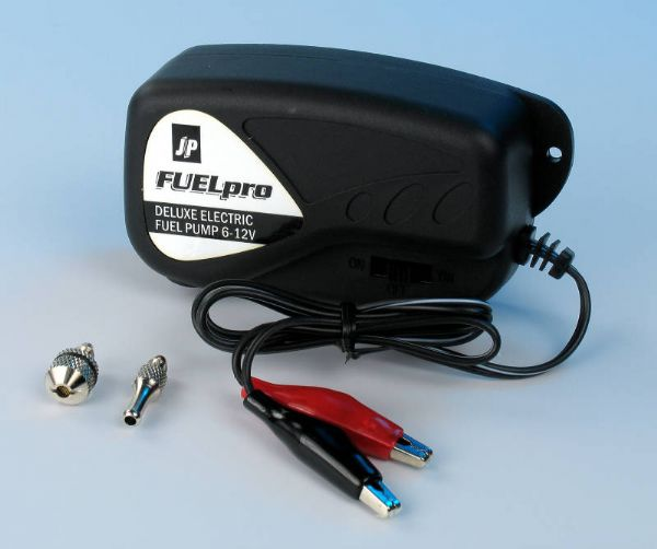 JP Deluxe Electric Fuel Pump 6-12V